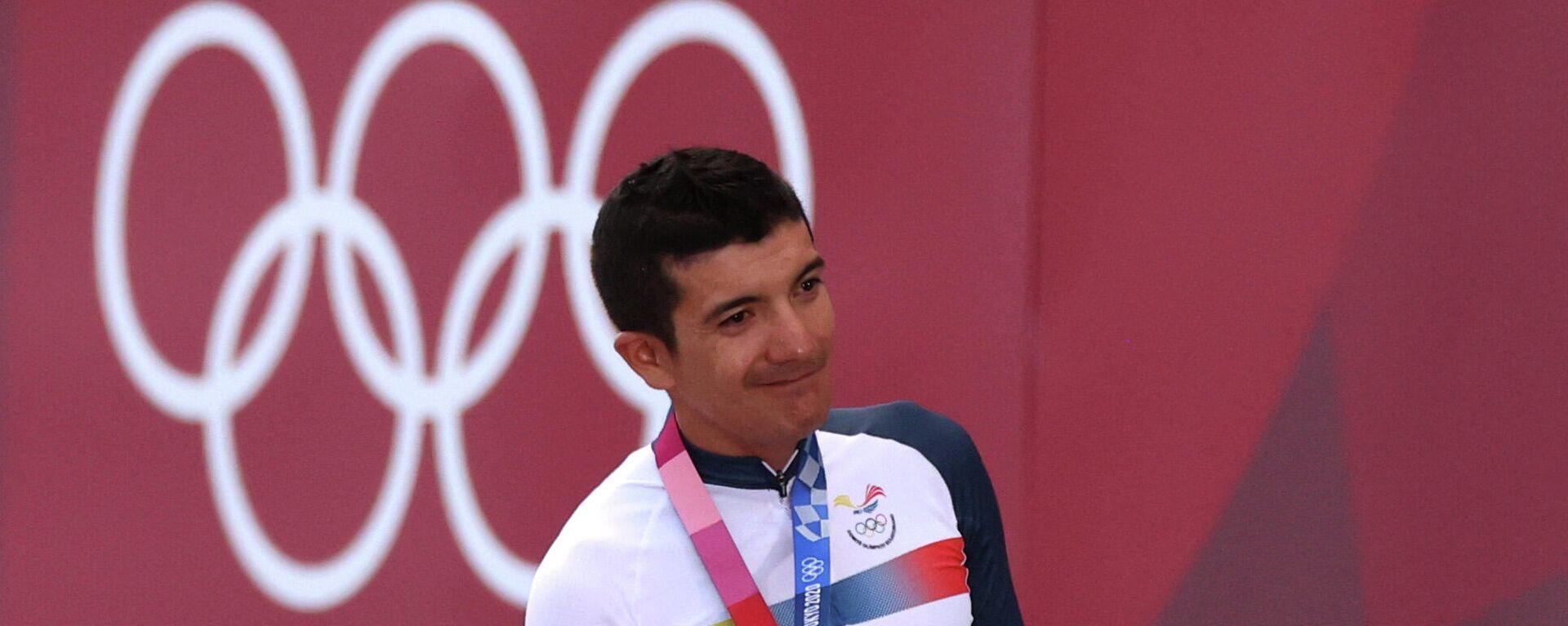 Richard Carapaz, ciclista ecuatoriano - Sputnik Mundo, 1920, 24.07.2021