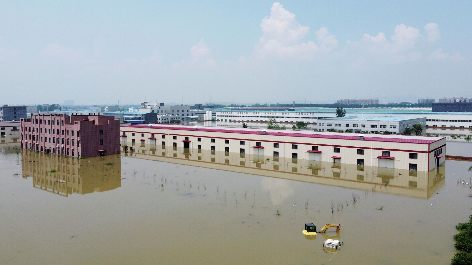 Consecuencias de las inundaciones en la provincia china de Henan (este), el 24 de julio de 2021 - Sputnik Mundo, 1920, 25.07.2021