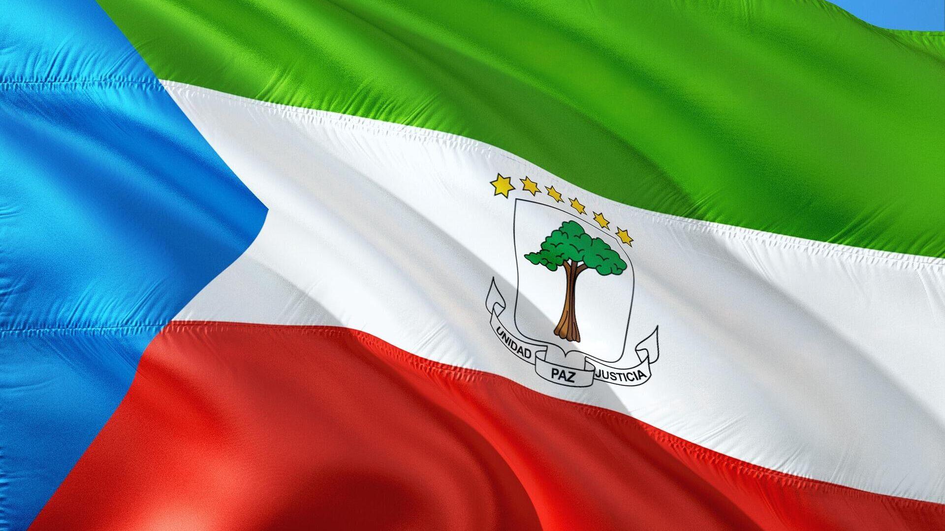 Bandera de Guinea Ecuatorial  - Sputnik Mundo, 1920, 26.07.2021