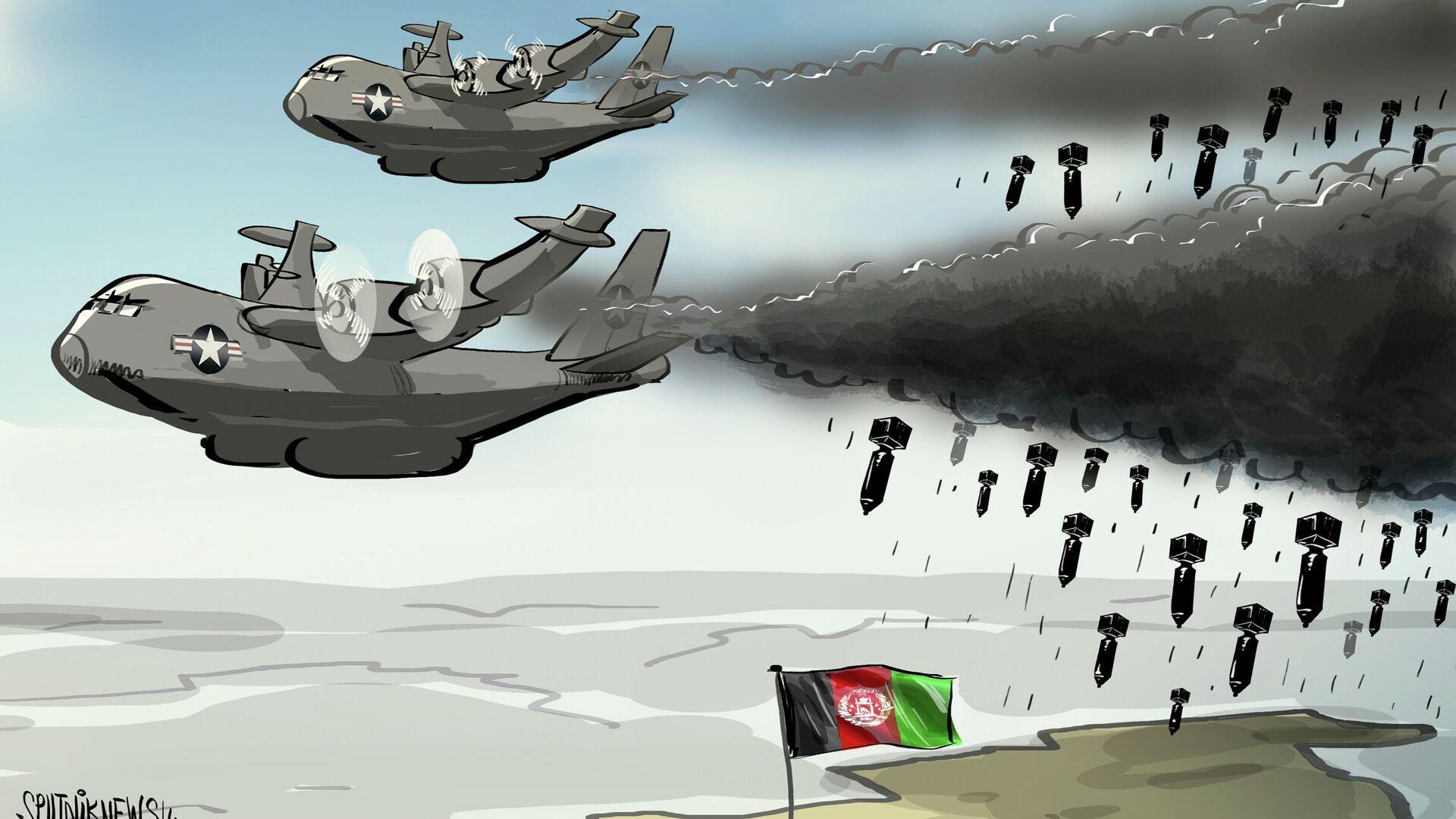 Sin tropas pero con bombardeos aéreos: EEUU promete seguir atacando a los talibanes desde el aire - Sputnik Mundo, 1920, 26.07.2021