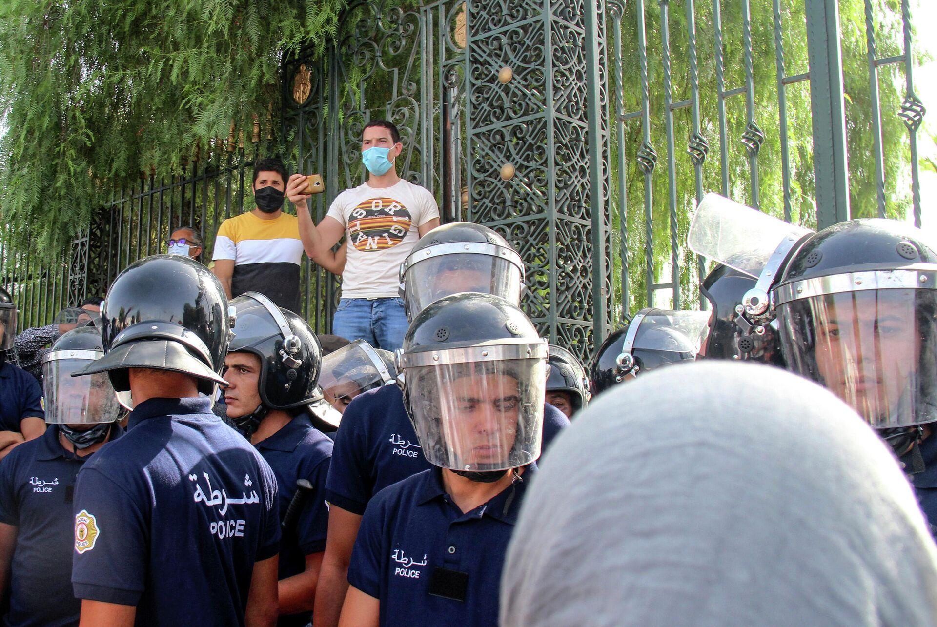 Protestas en Túnez - Sputnik Mundo, 1920, 26.07.2021