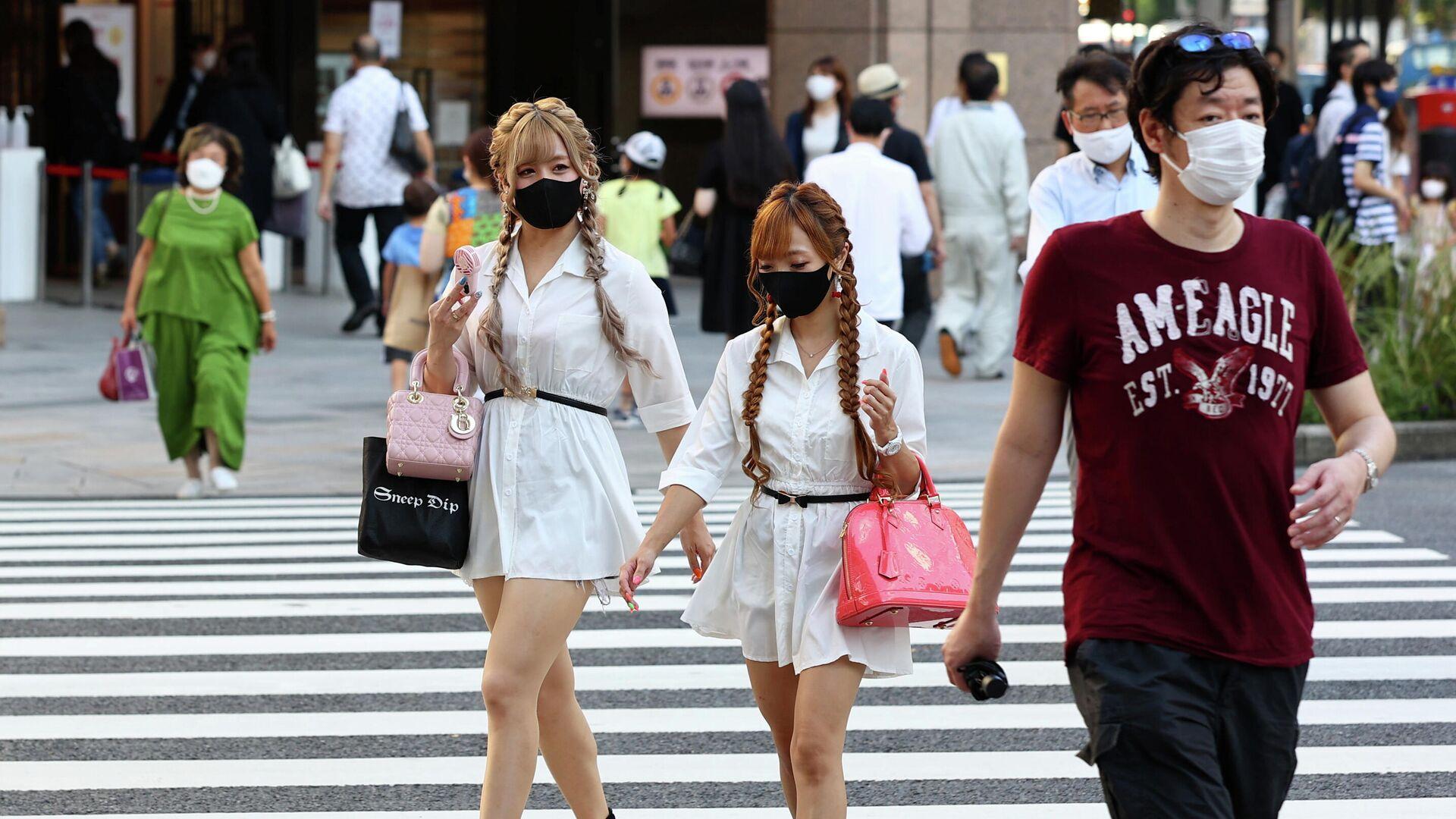 Coronavirus en Tokio, Japón - Sputnik Mundo, 1920, 07.08.2021