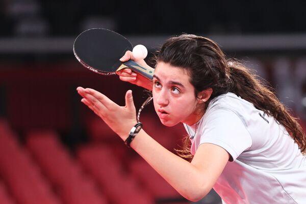 La participante de los JJOO más joven es la deportista siria Hend Zaza, que tiene apenas 12 años. - Sputnik Mundo