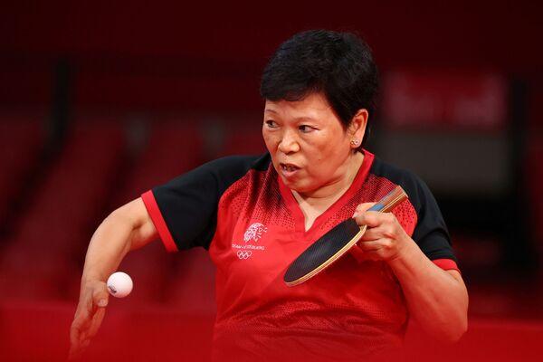 La deportista china y luxemburguesa Ni Xialian cumplió 58 años el 4 de julio. - Sputnik Mundo