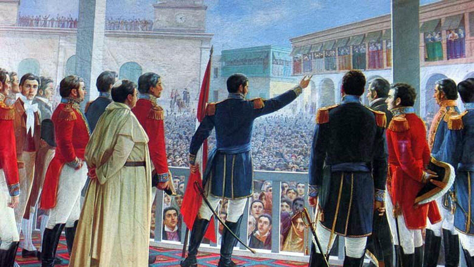 Independencia del Perú - Sputnik Mundo, 1920, 27.07.2021