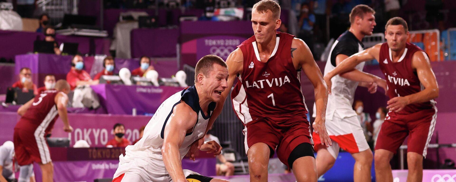 El equipo masculino de baloncesto 3x3 del Comité Olímpico Ruso  - Sputnik Mundo, 1920, 28.07.2021