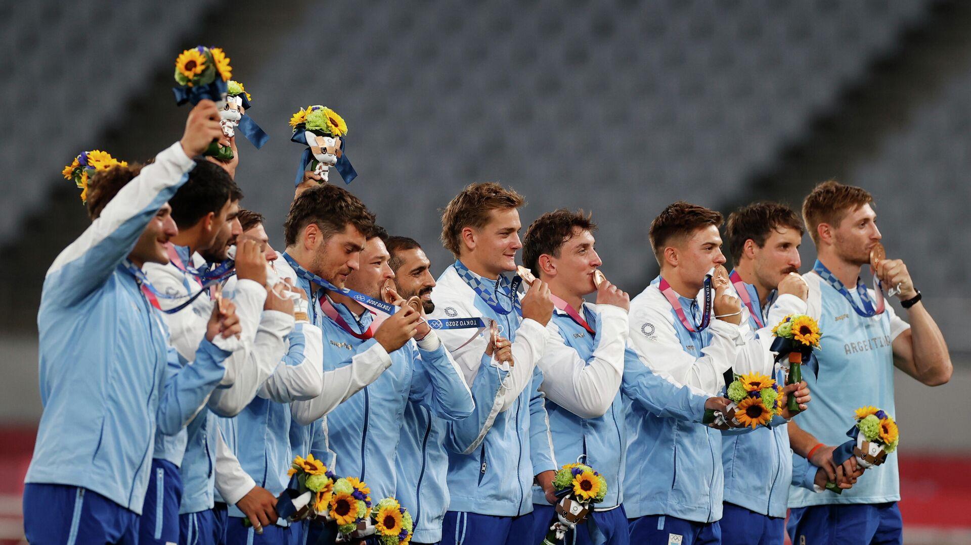 La selección masculina de rugby de Argentina - Sputnik Mundo, 1920, 28.07.2021