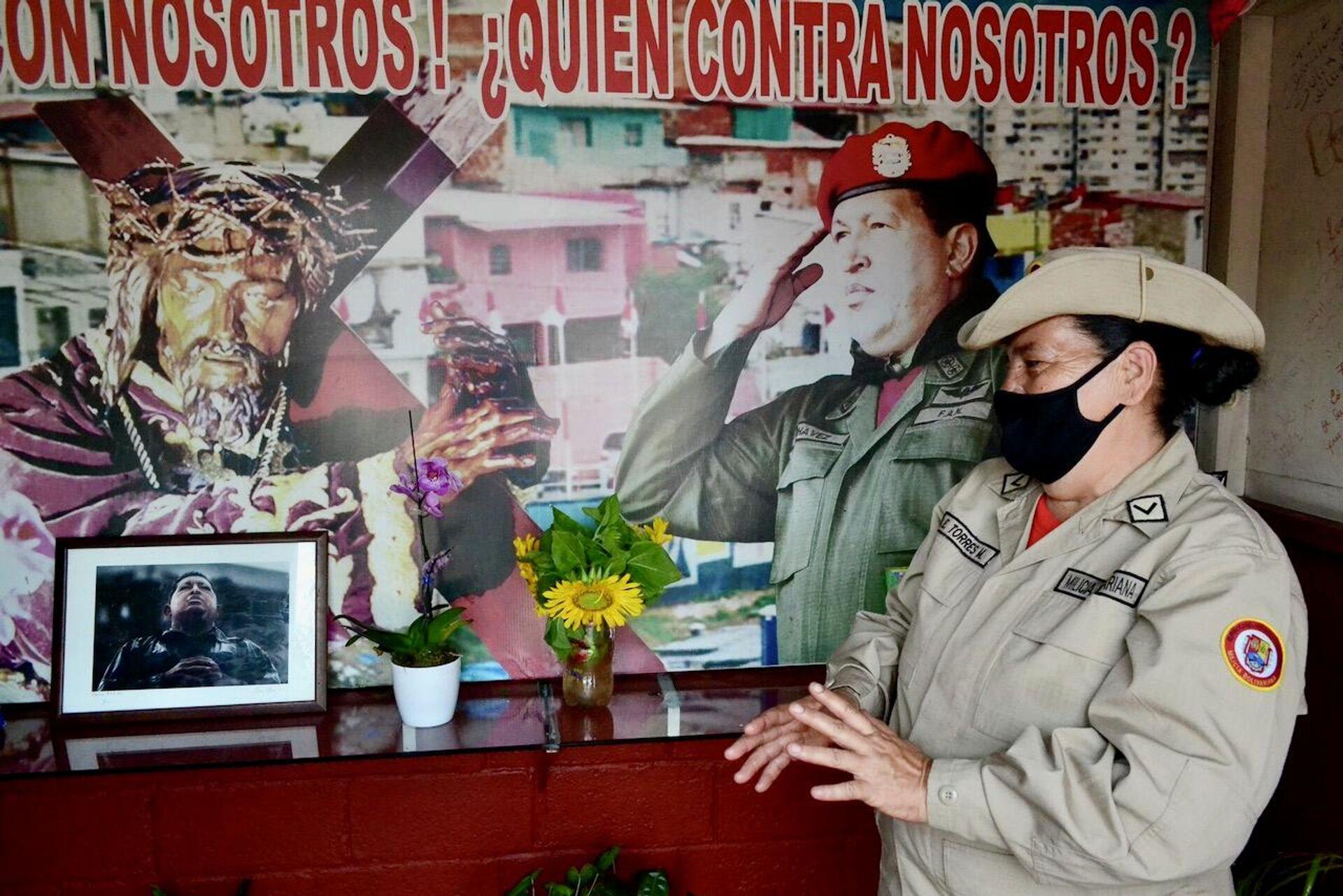 Elizabeth Torres cuenta que Chávez se apareció en su casa el 4 de febrero de 1992  - Sputnik Mundo, 1920, 29.07.2021