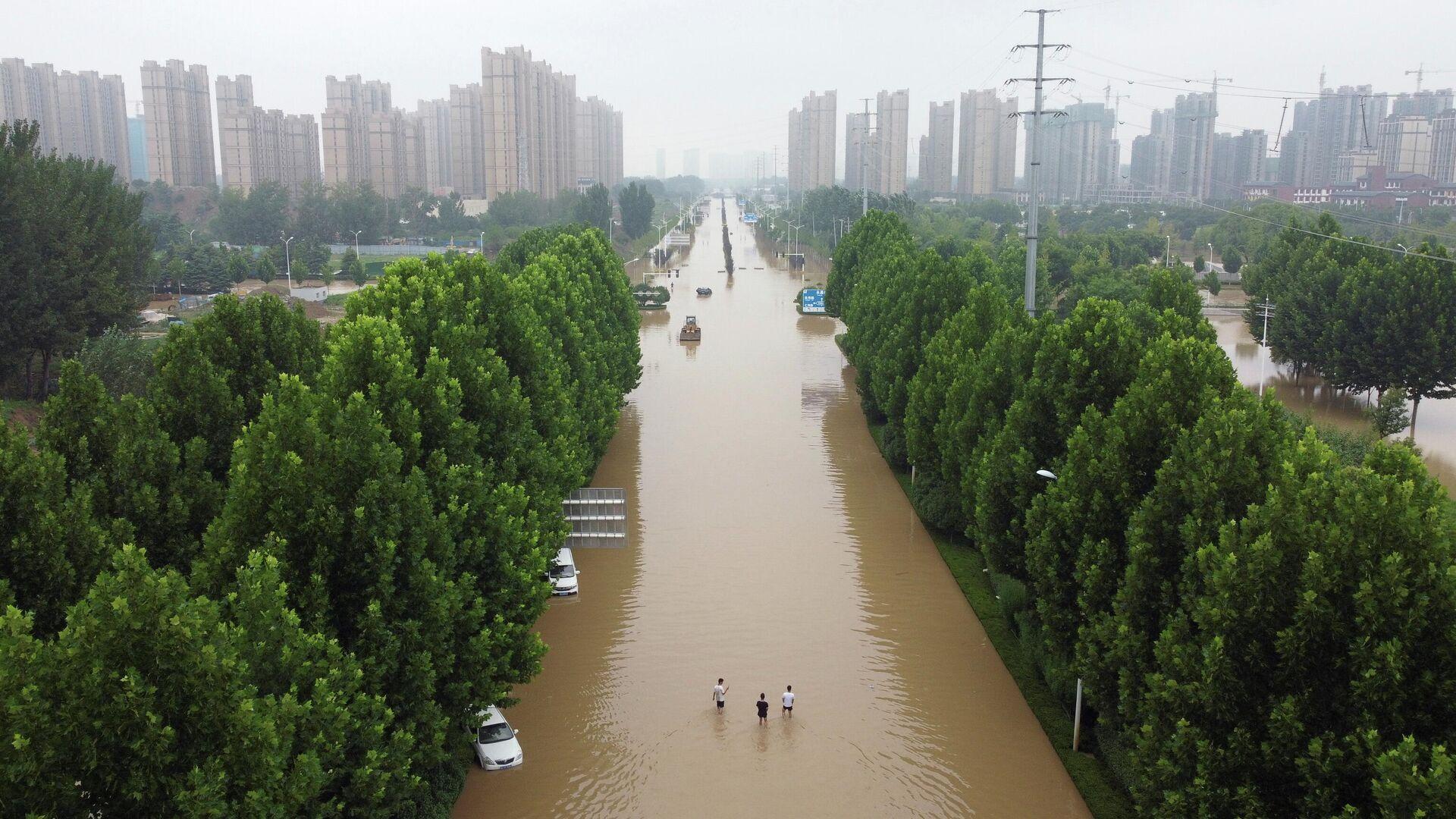 Inundaciones en China - Sputnik Mundo, 1920, 29.07.2021