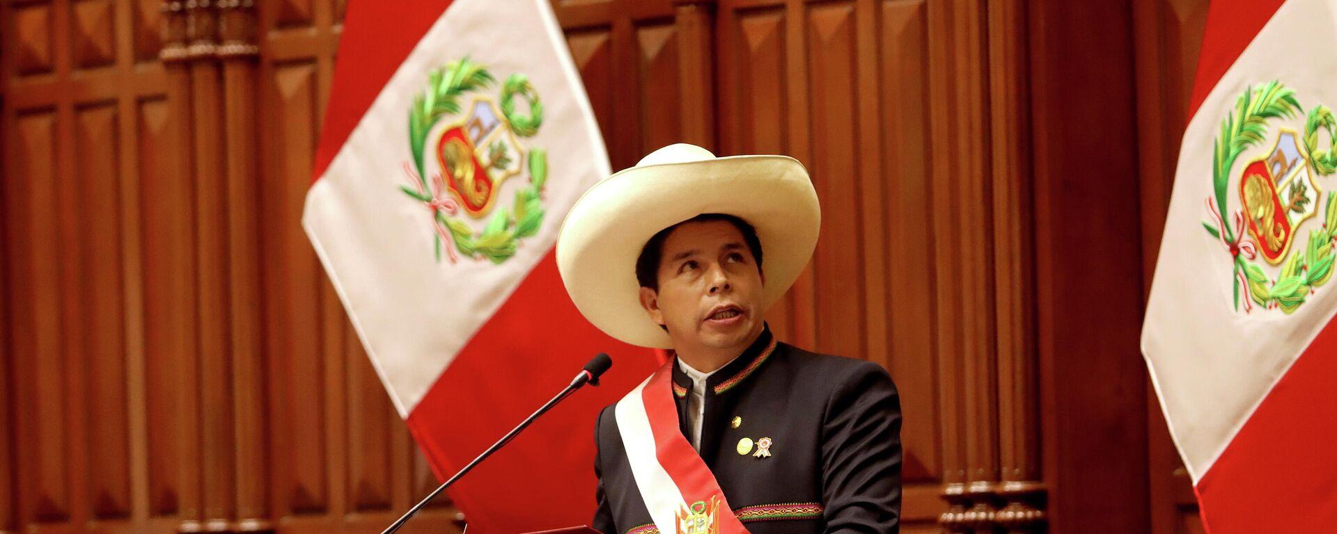 Pedro Castillo, presidente de Perú - Sputnik Mundo, 1920, 06.08.2021
