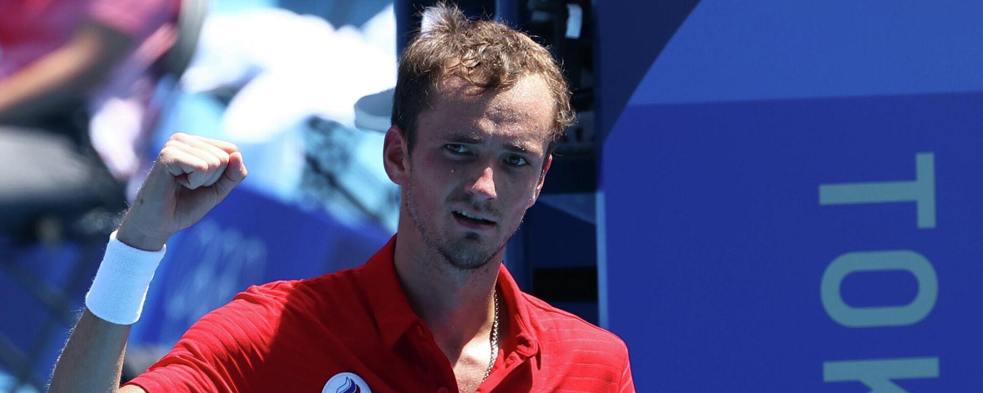 El tenista ruso Daniil Medvédev - Sputnik Mundo, 1920, 29.07.2021