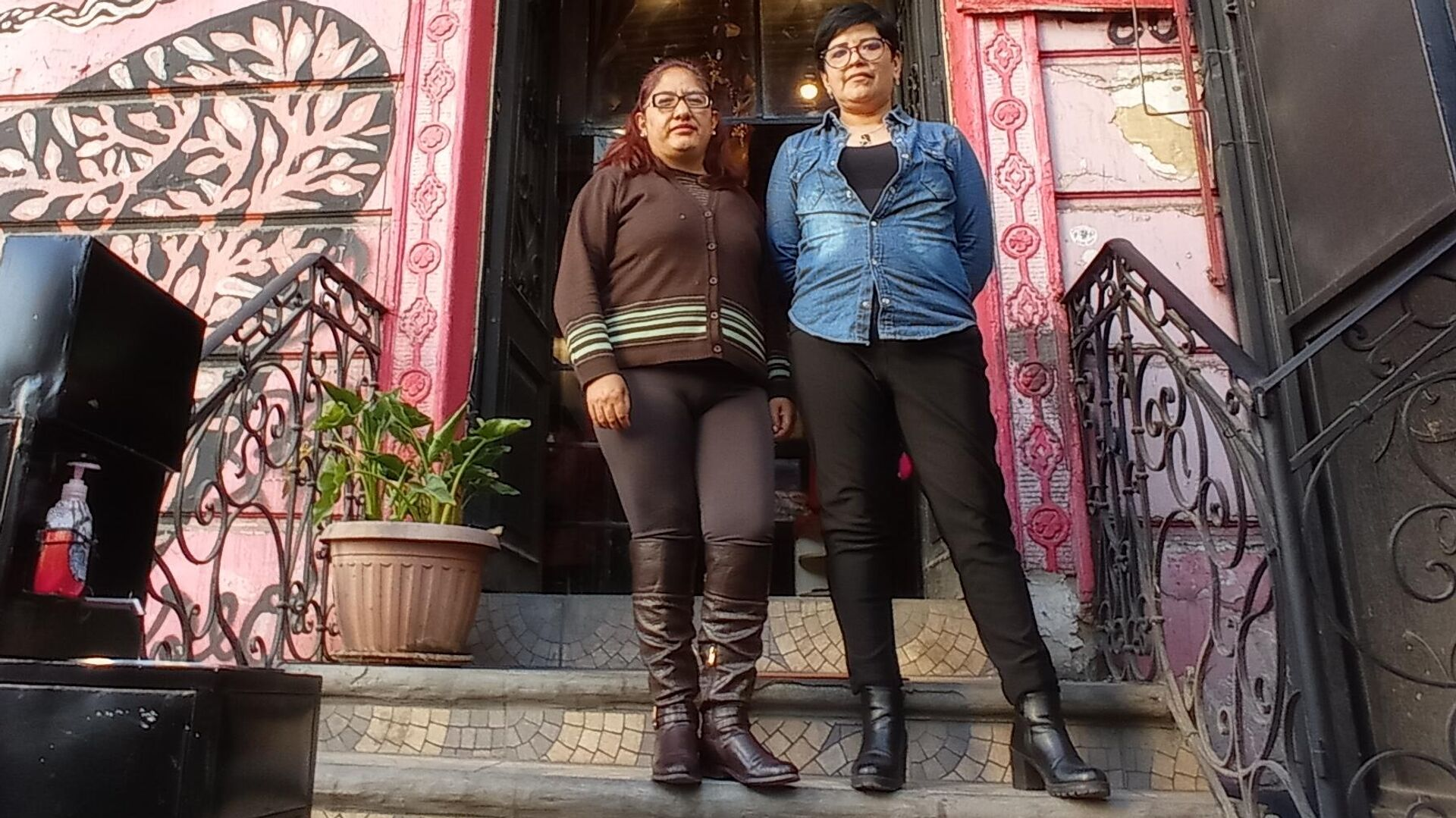 Paola Gutiérrez y Heydi Gil - Sputnik Mundo, 1920, 29.07.2021