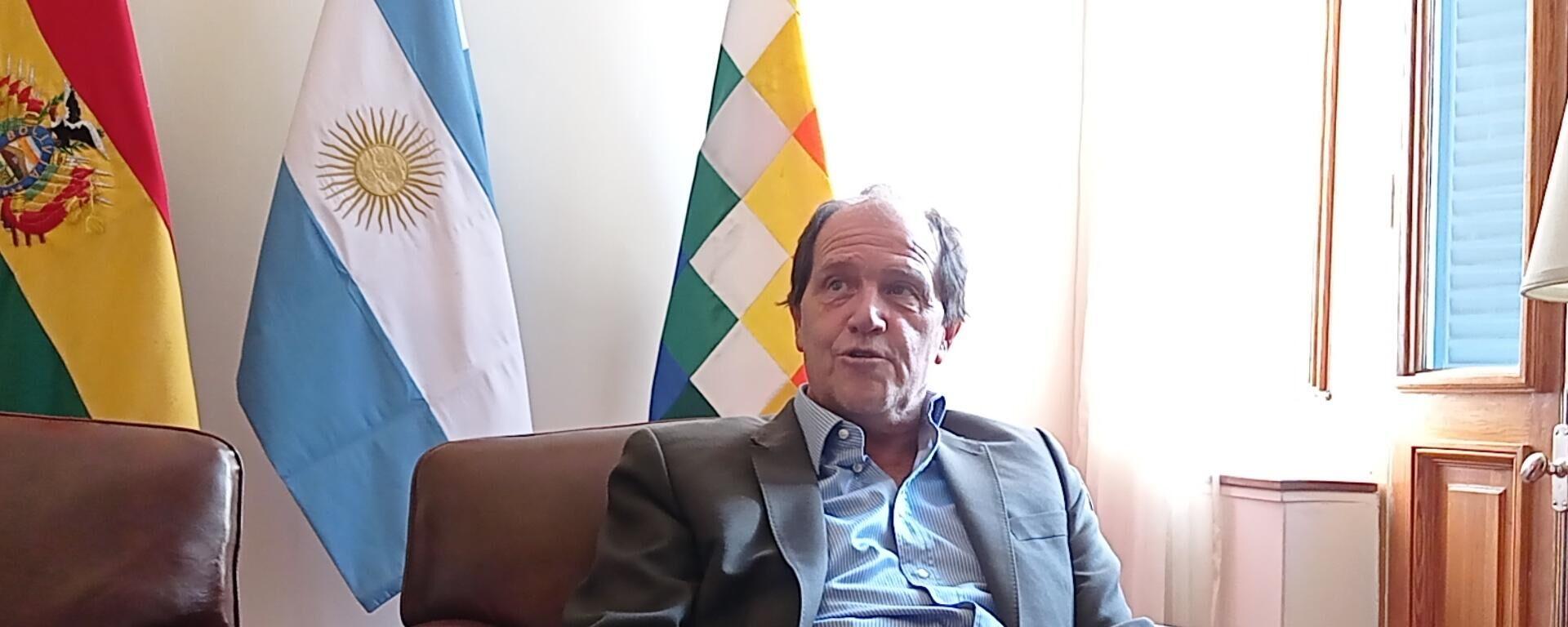 Ariel Basteiro, embajador de Argentina en Bolivia - Sputnik Mundo, 1920, 30.07.2021