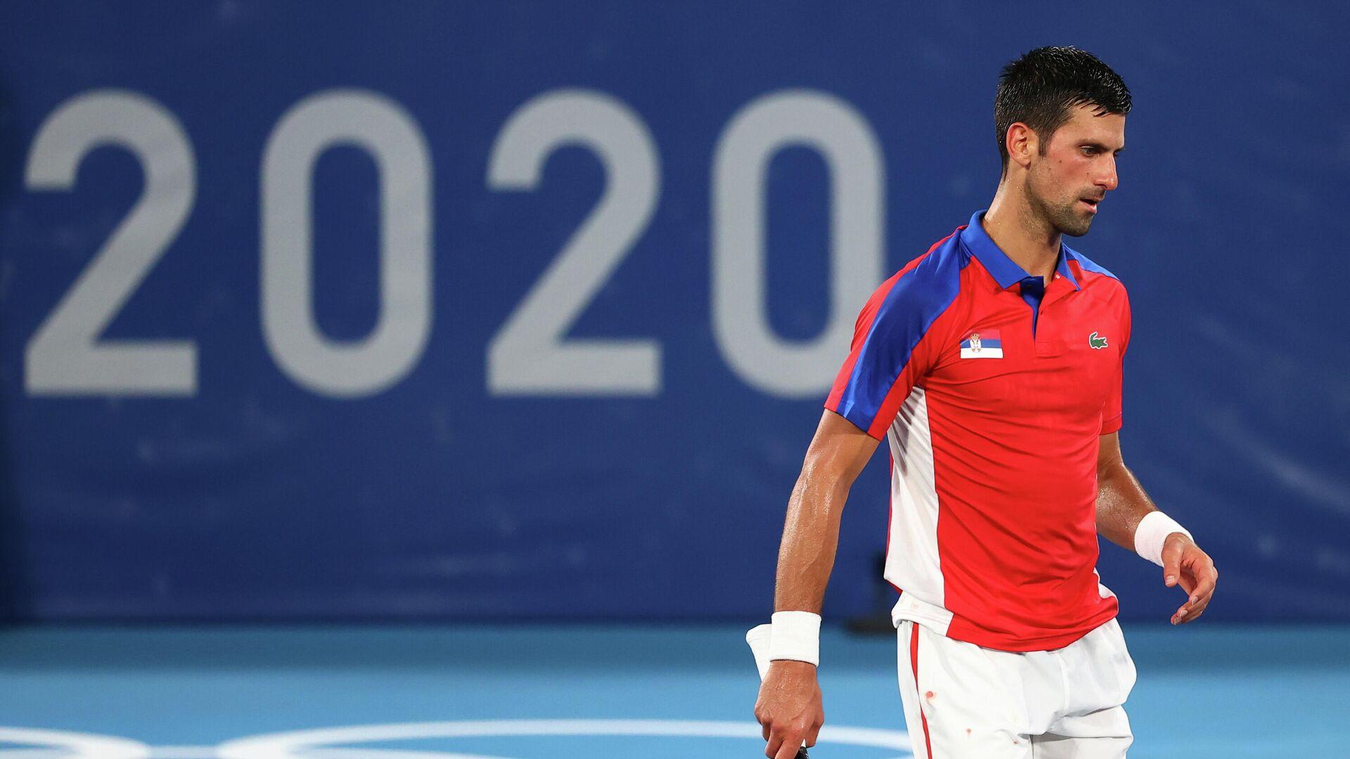 Novak Djokovic, tenista serbio  - Sputnik Mundo, 1920, 30.07.2021