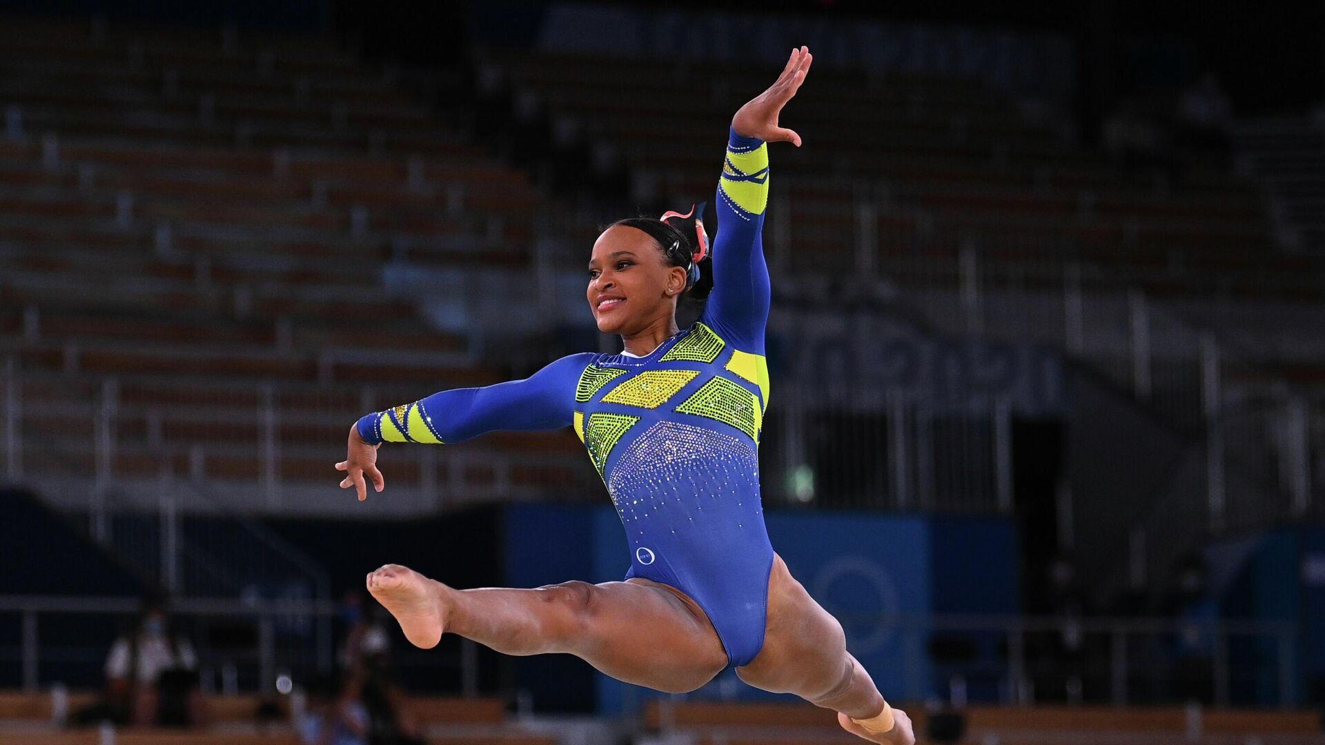 Rebeca Andrade, primera gimnasta brasileña en conquistar una medalla olímpica - Sputnik Mundo, 1920, 30.07.2021