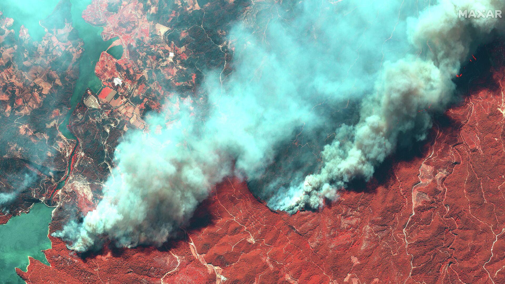 Incendios forestales en Turquía - Sputnik Mundo, 1920, 30.07.2021