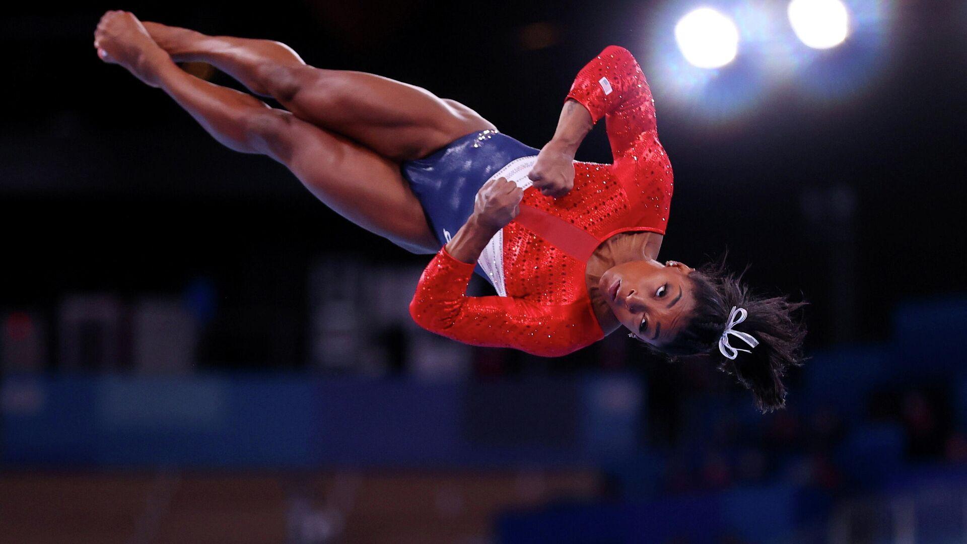 Simone Biles, gimnasta estadounidense - Sputnik Mundo, 1920, 31.07.2021