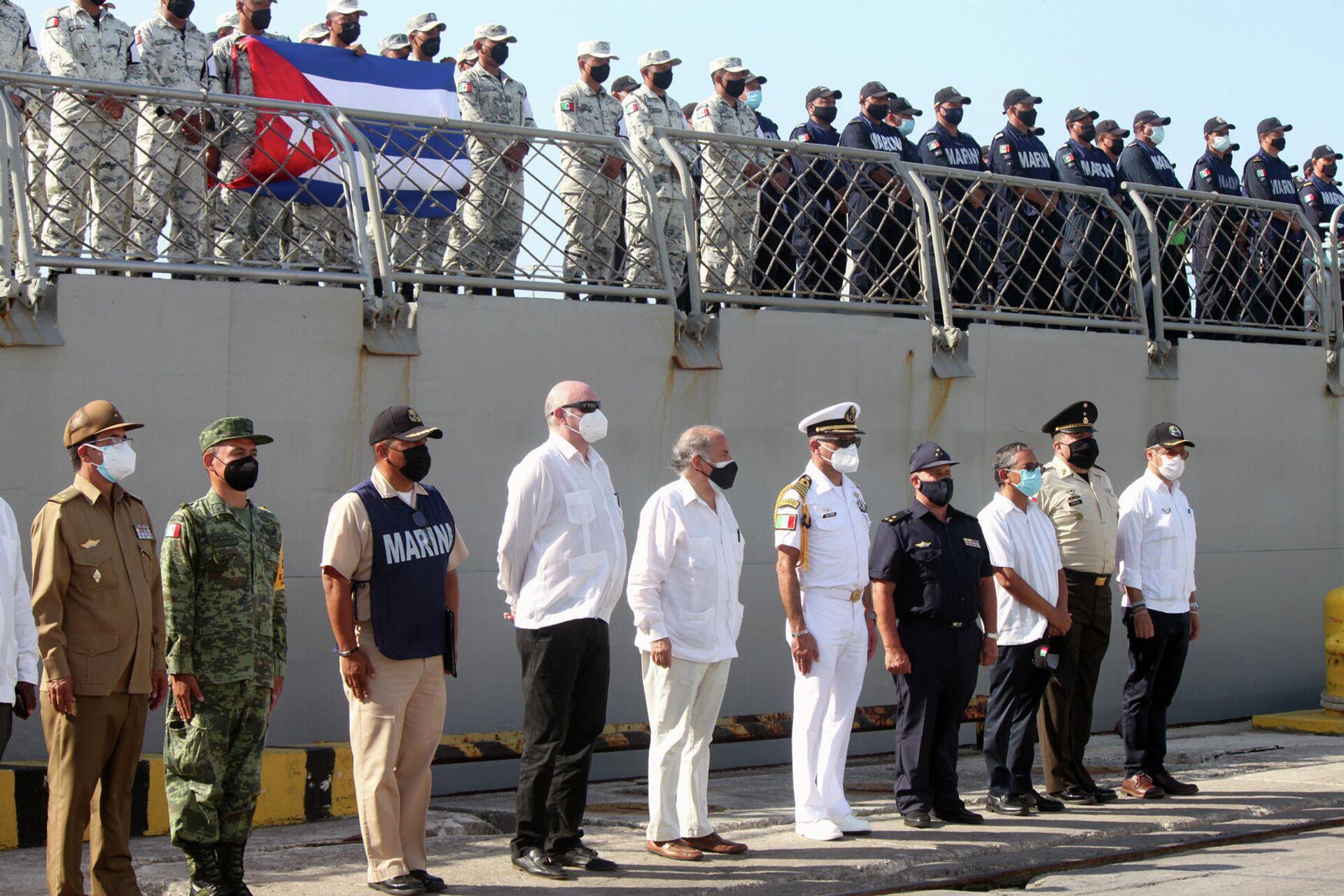 Recibimiento en La Habana del buque Libertador, con ayuda humanitaria para Cuba - Sputnik Mundo, 1920, 31.07.2021
