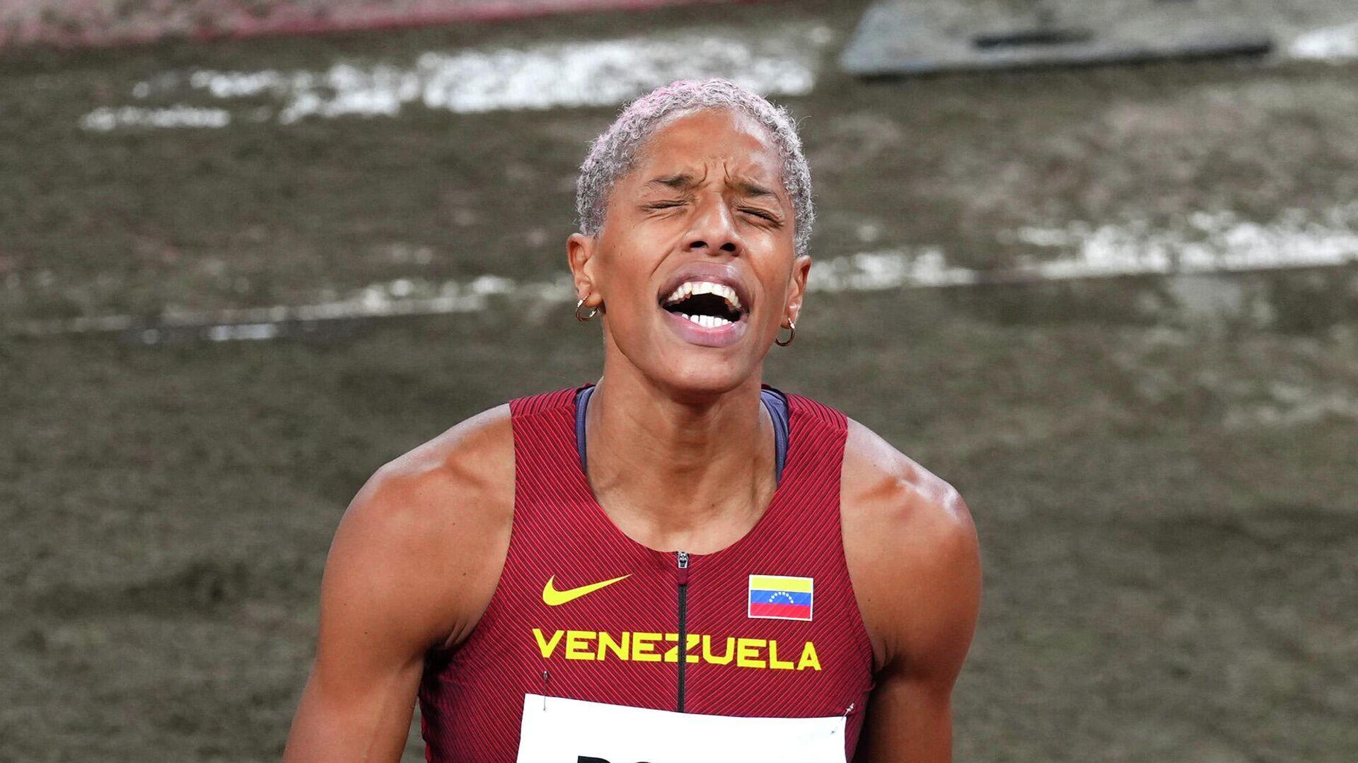 La atleta venezolana Yulimar Rojas - Sputnik Mundo, 1920, 01.08.2021