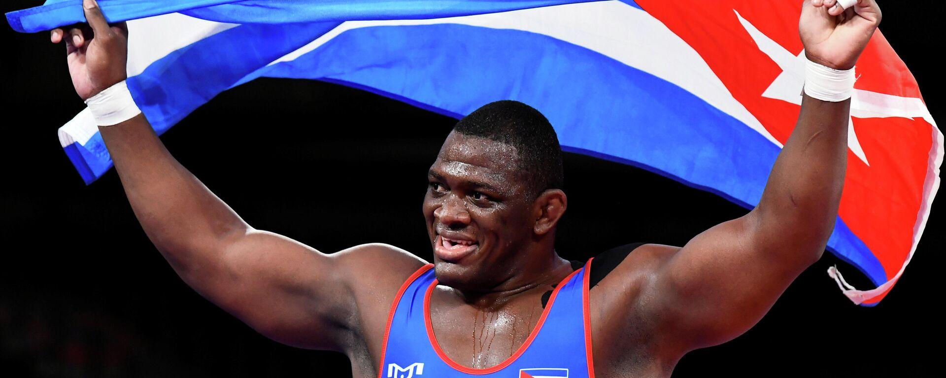 Mijaín López, luchador cubano - Sputnik Mundo, 1920, 02.08.2021
