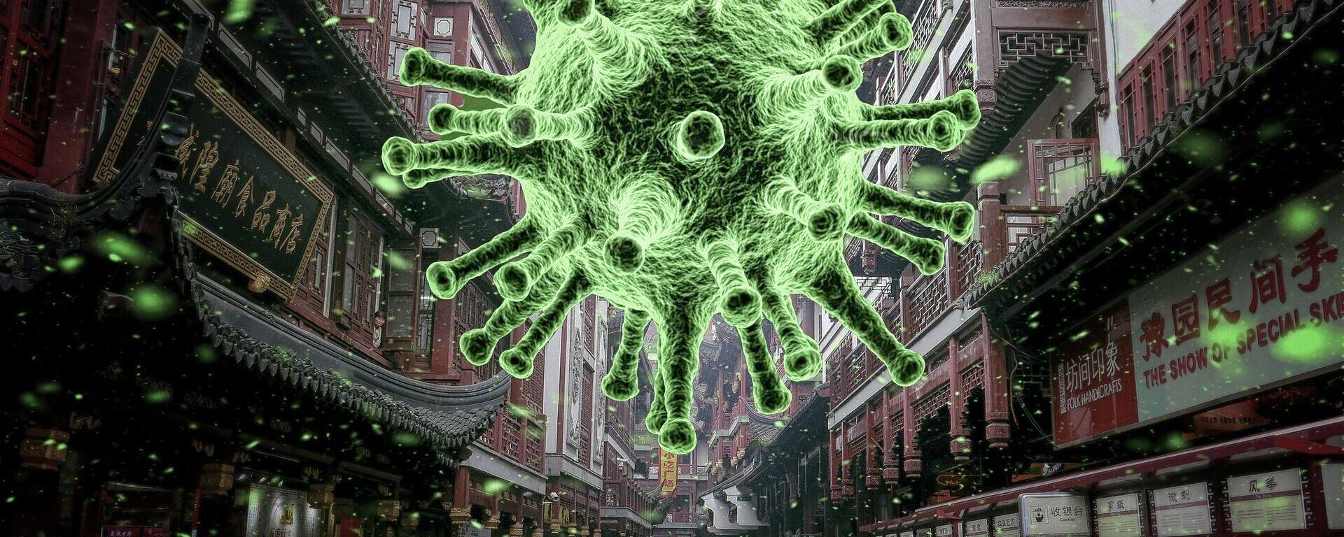 Coronavirus  (imagen referencial) - Sputnik Mundo, 1920, 02.08.2021