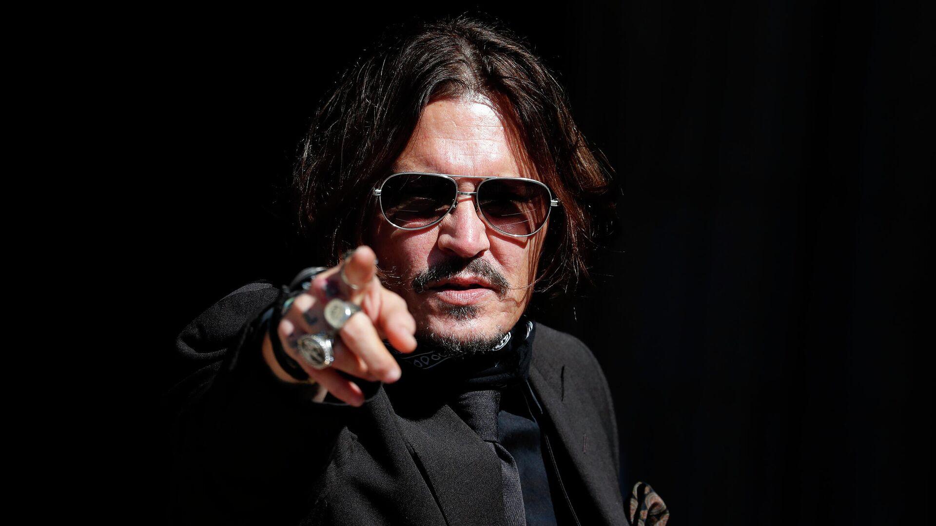 Johnny Depp, actor estadounidense - Sputnik Mundo, 1920, 02.08.2021