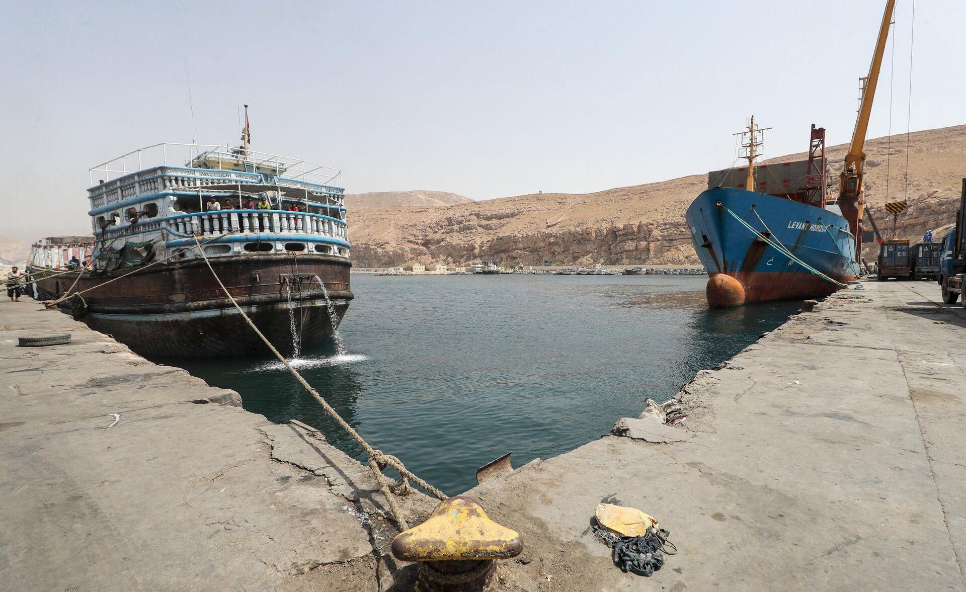 Puerto de Al Mukalla (Yemen) - Sputnik Mundo, 1920, 02.08.2021
