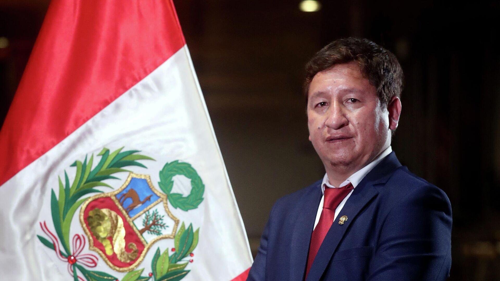 Guido Bellido, primer ministro de Perú - Sputnik Mundo, 1920, 02.08.2021