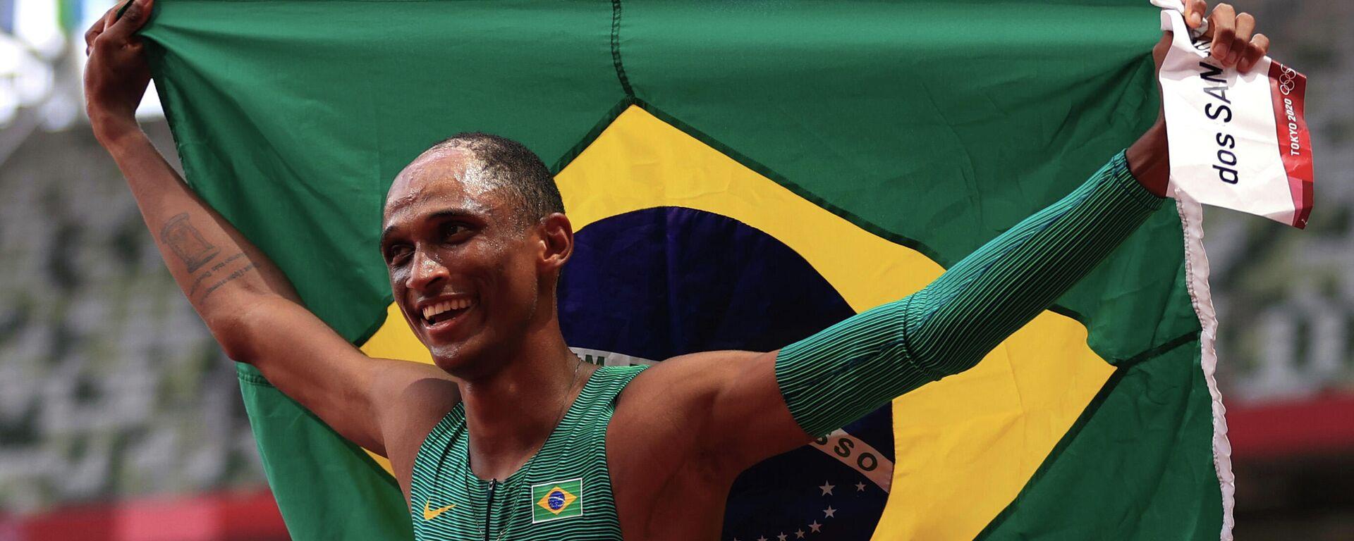 Alison dos Santos, atleta de Brasil - Sputnik Mundo, 1920, 03.08.2021