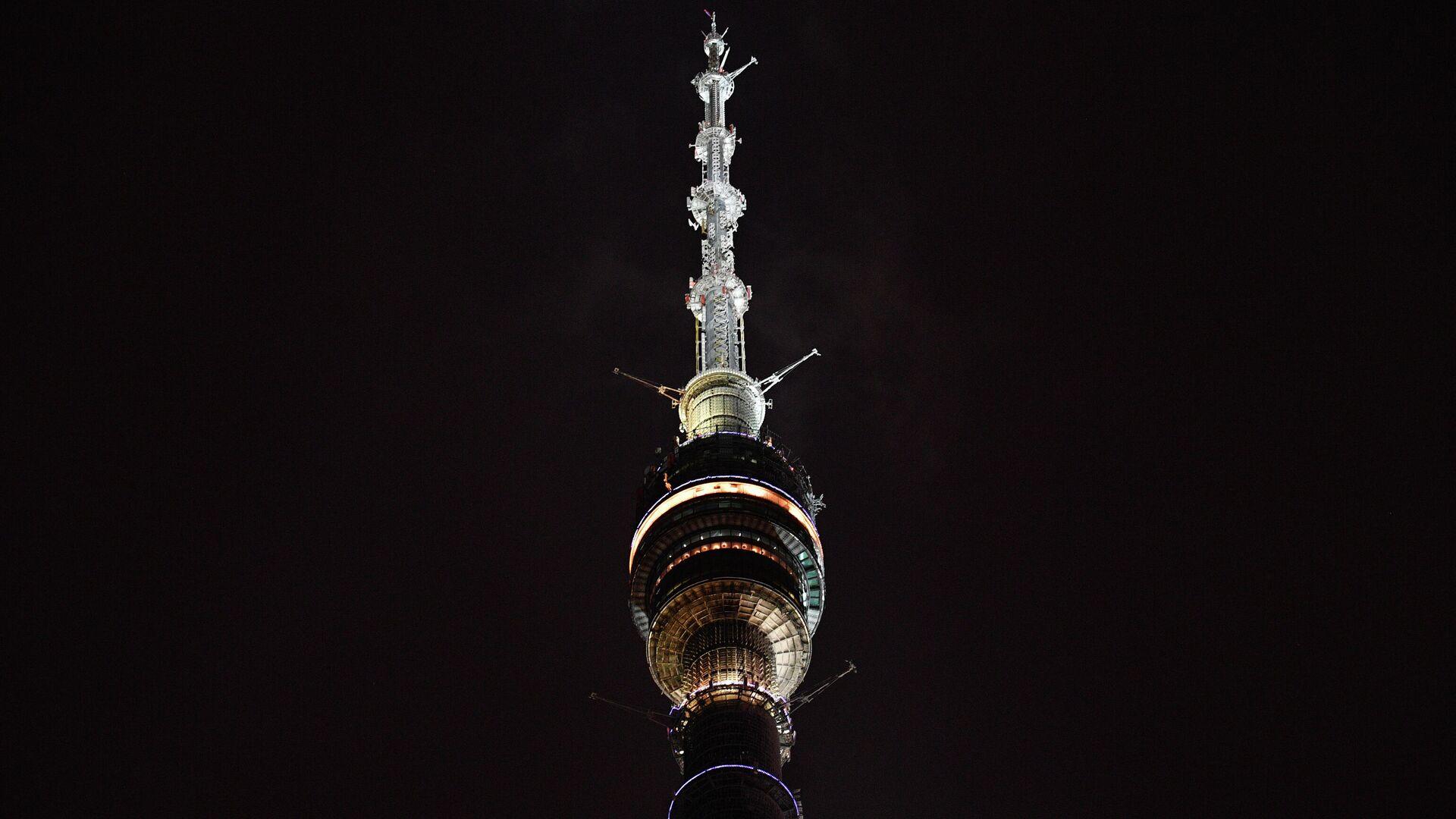 La torre de televisión Ostánkino de Moscú  - Sputnik Mundo, 1920, 03.08.2021