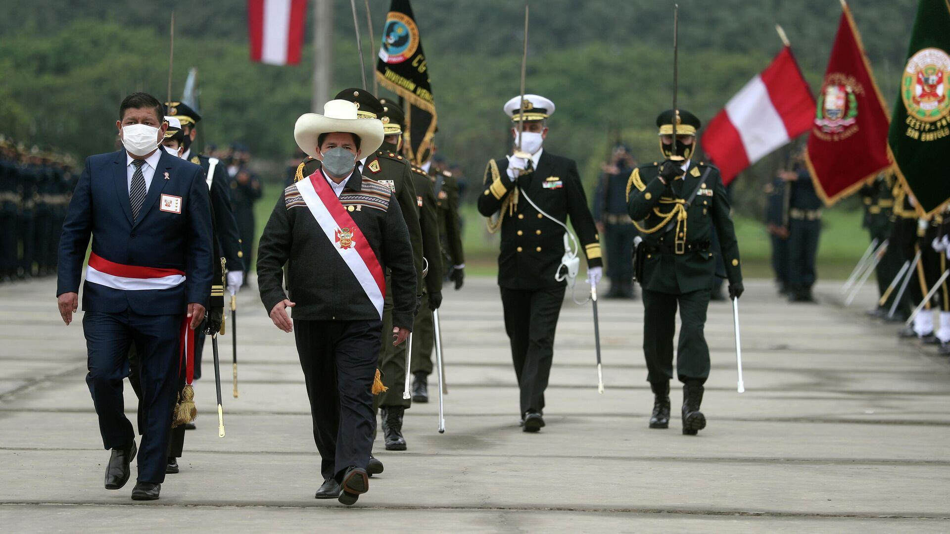 Pedro Castillo, presidente de Perú - Sputnik Mundo, 1920, 03.08.2021