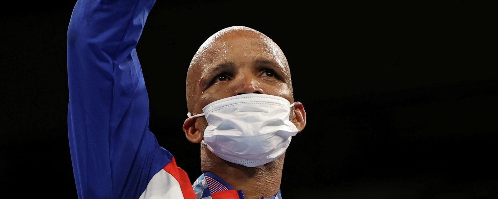 Roniel Iglesias, boxeador cubano, JJOO Tokio 2020 - Sputnik Mundo, 1920, 03.08.2021
