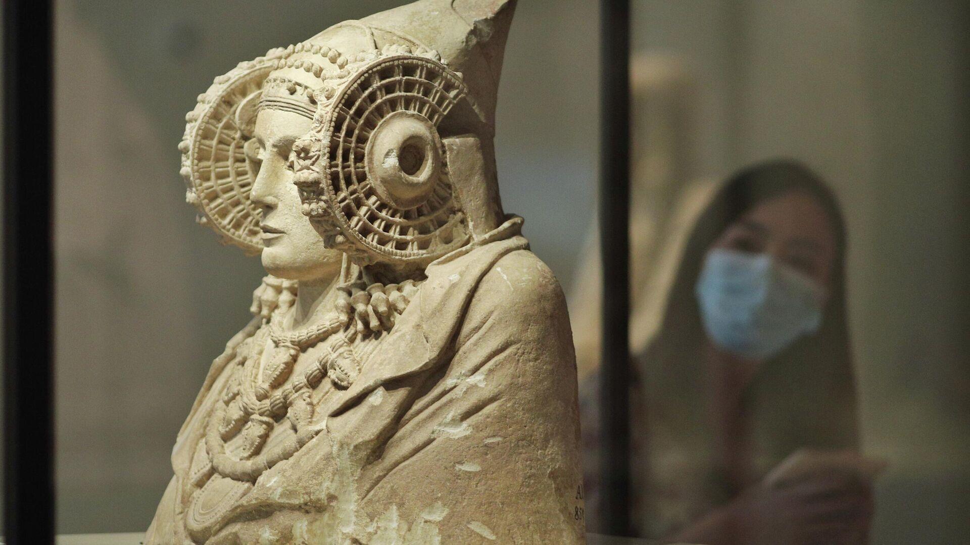 Dama de Elche en el Museo Arqueológico Nacional (Madrid) - Sputnik Mundo, 1920, 04.08.2021
