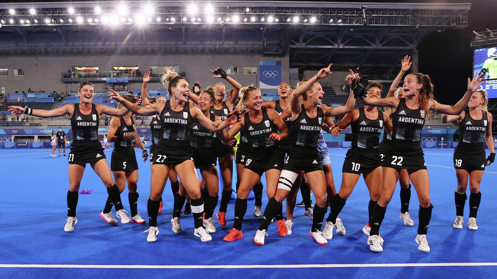 La selección femenina de hockey de Argentina llega a la final de los JJOO - Sputnik Mundo, 1920, 04.08.2021