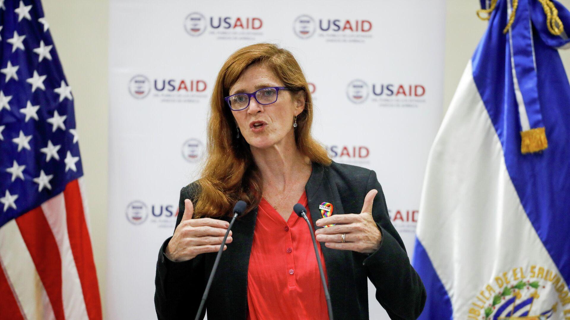 Samantha Powers, jefa de la Agencia de Estados Unidos para el Desarrollo Internacional (USAID) - Sputnik Mundo, 1920, 04.08.2021