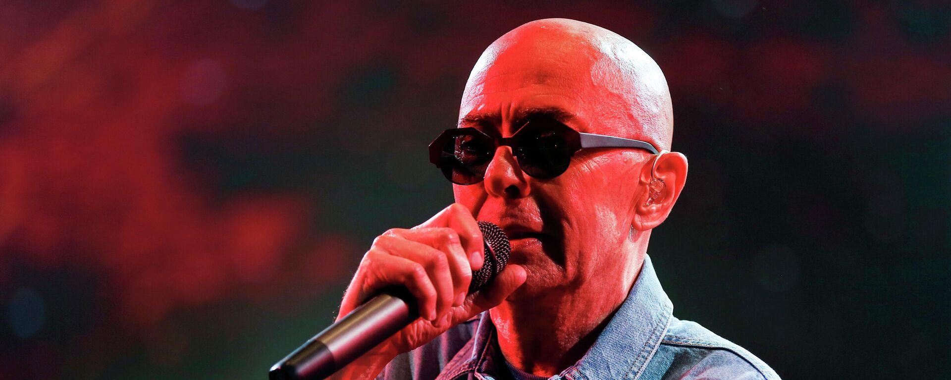 El cantante argentino Carlos 'Indio' Solari, exlíder de Patricio Rey y sus Redonditos de Ricota, durante un concierto en 2017 - Sputnik Mundo, 1920, 04.08.2021