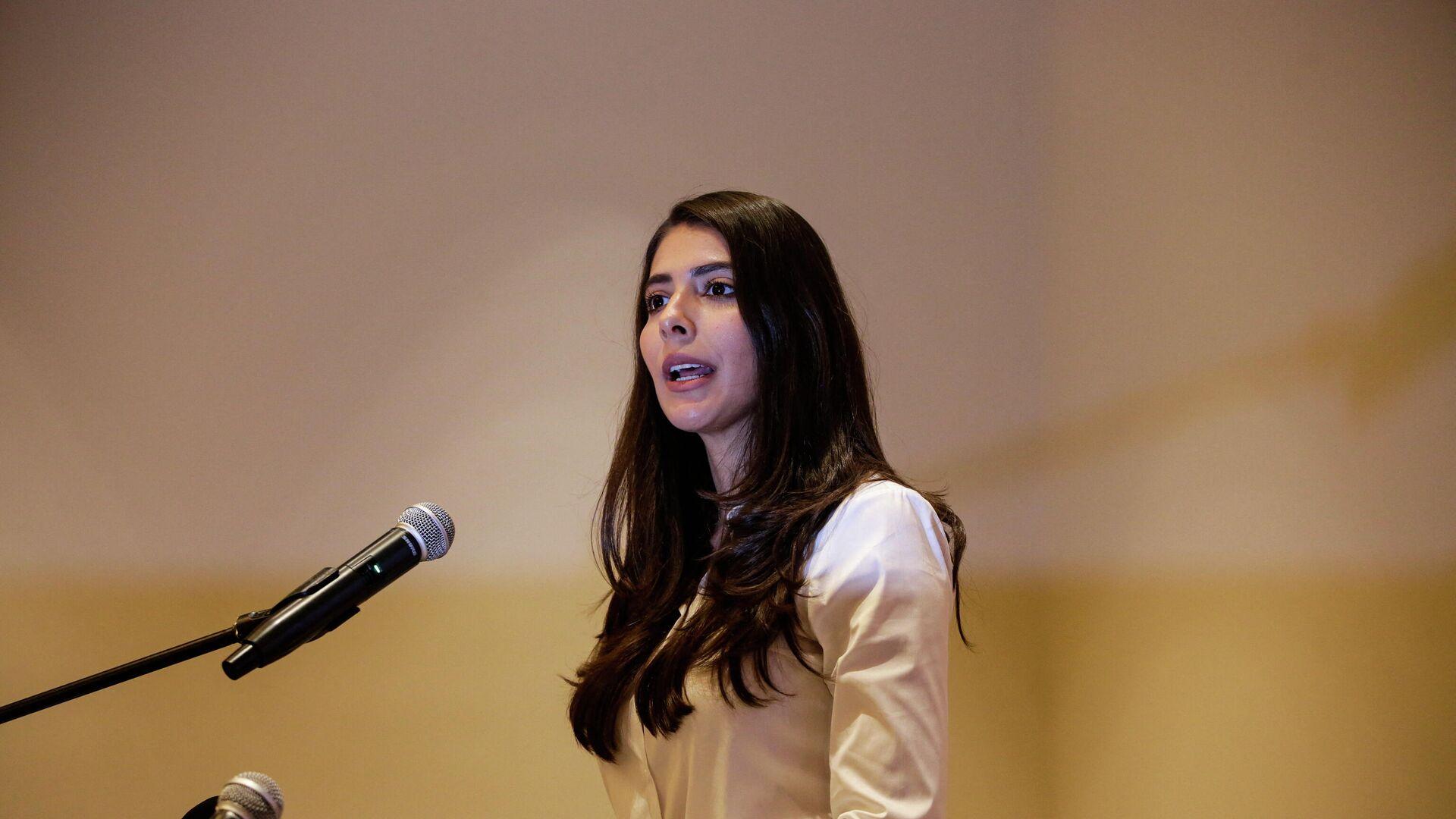 Berenice Quezada, candidata a la vicepresidencia de Nicaragua - Sputnik Mundo, 1920, 04.08.2021