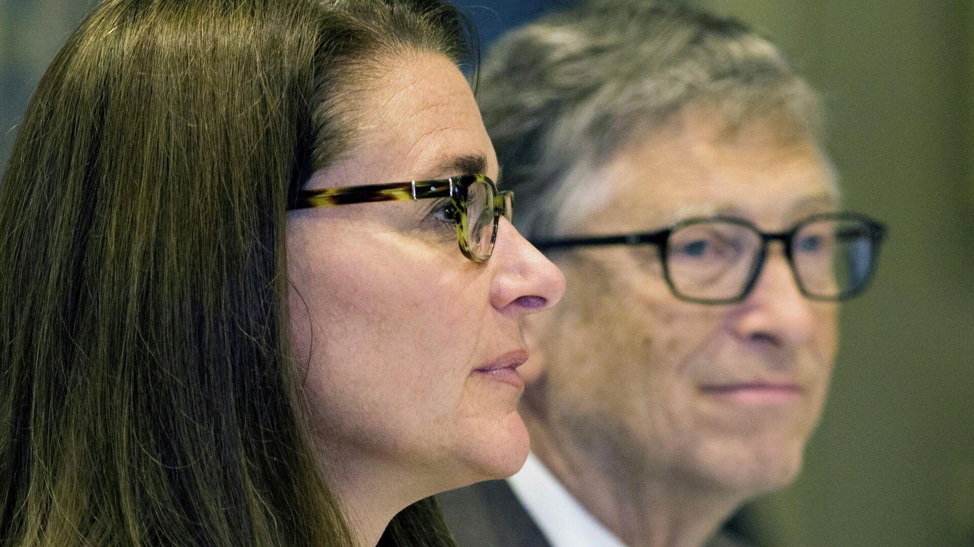 Melinda y Bill Gates, filántropos estadounidenses - Sputnik Mundo, 1920, 05.08.2021