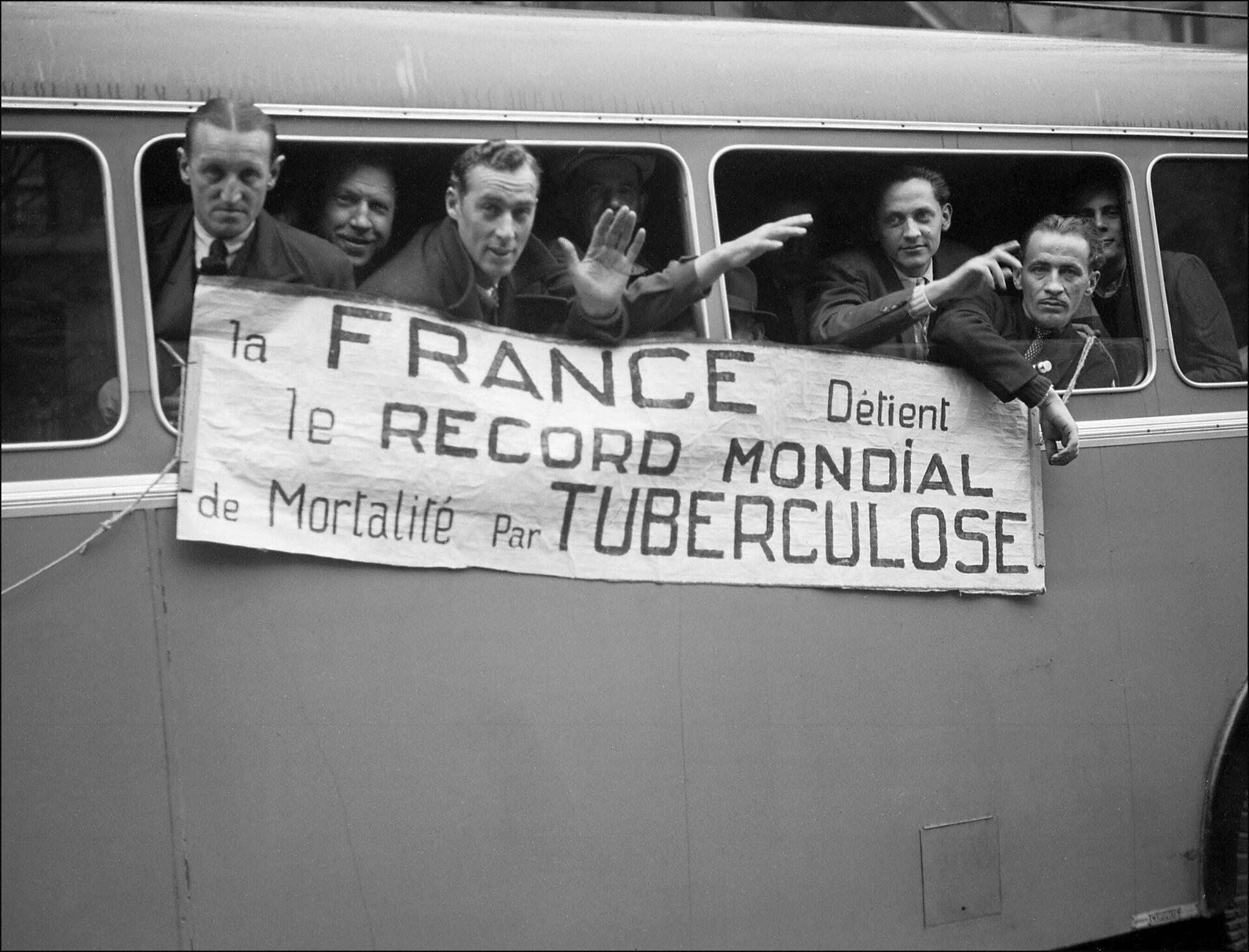 Infectados de tuberculosis en Francia  - Sputnik Mundo, 1920, 05.08.2021
