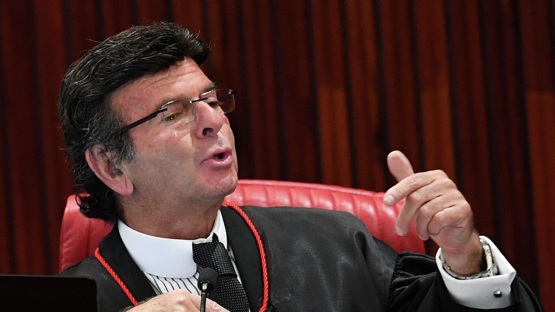 Luiz Fux, presidente del Tribunal Supremo Federal de Brasil - Sputnik Mundo, 1920, 05.08.2021