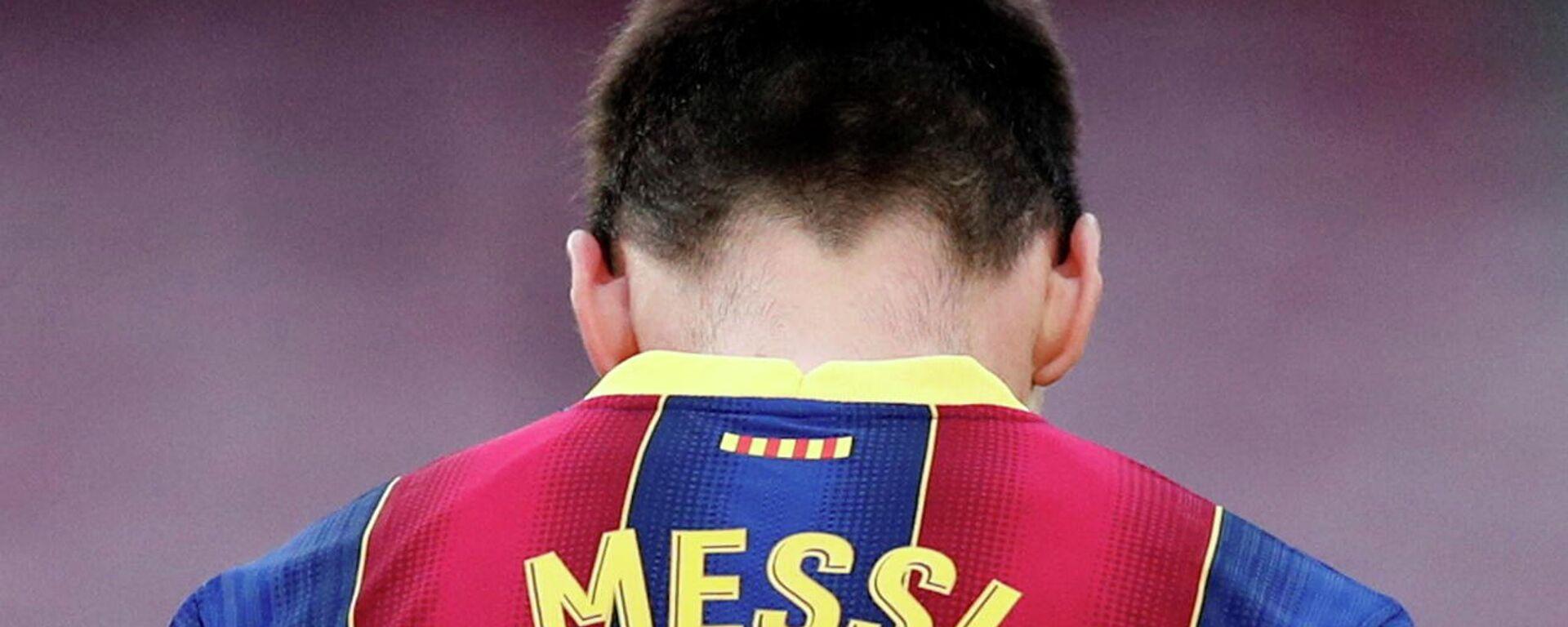 Lionel Messi, futbolista argentino exjugador del Fútbol Club Barcelona - Sputnik Mundo, 1920, 06.08.2021