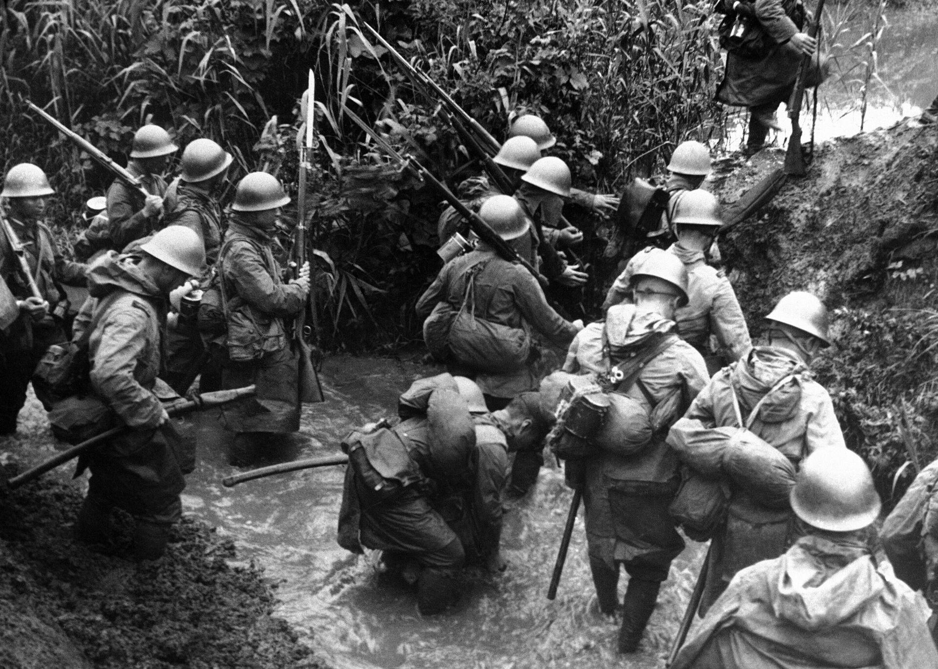 Soldados japoneses en China - Sputnik Mundo, 1920, 06.08.2021