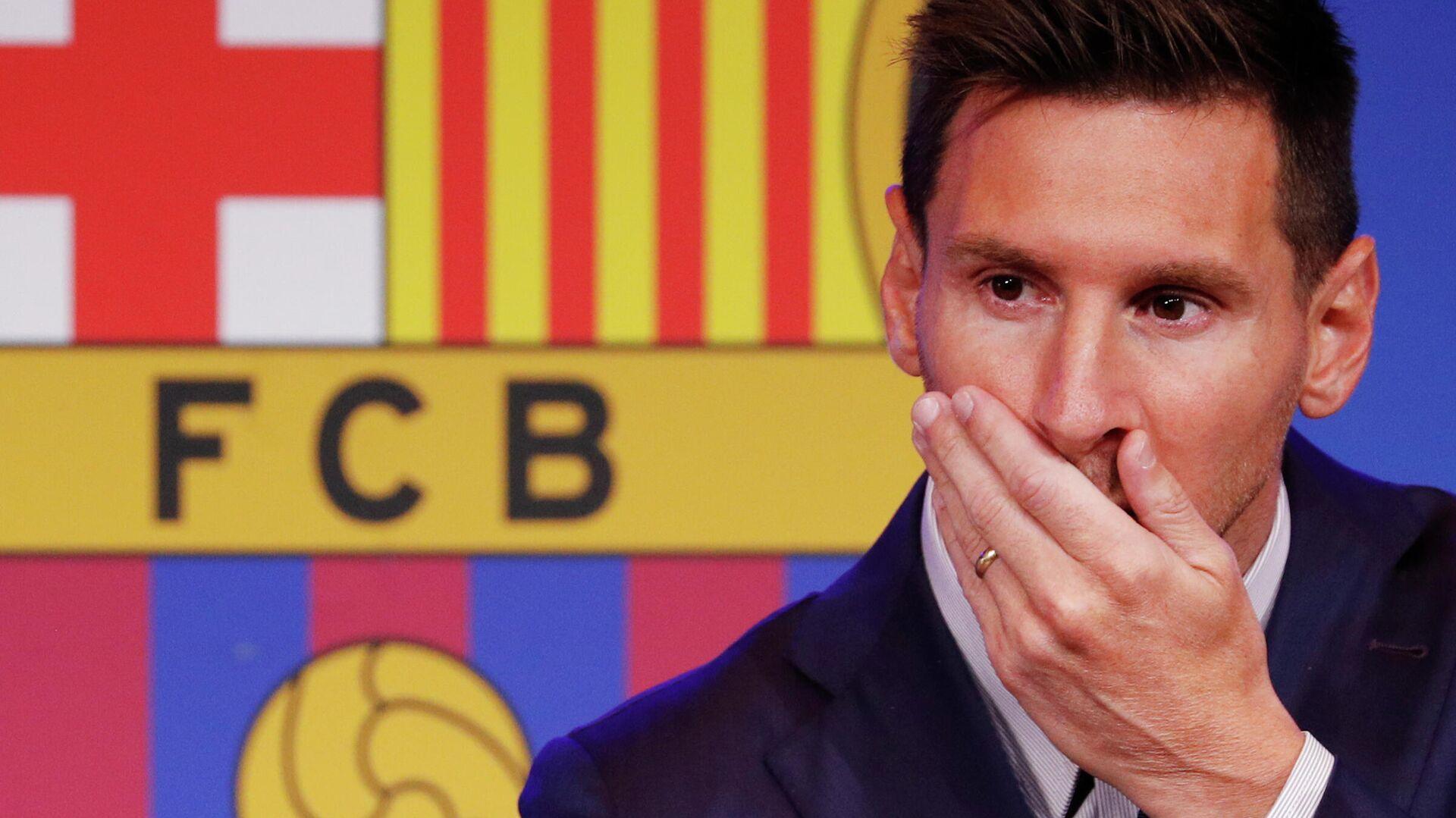 Lionel Messi, futbolista argentino - Sputnik Mundo, 1920, 08.08.2021