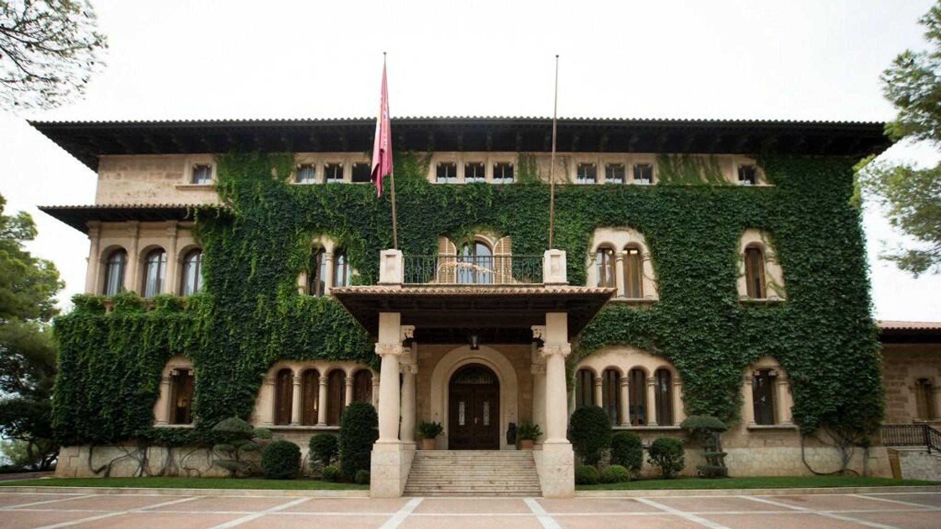 Palacio de Marivent, en Palma de Mallorca - Sputnik Mundo, 1920, 10.08.2021