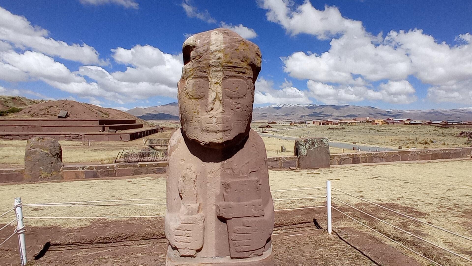El centro arqueológico Tiwanaku, que recuerda la cultura tiwanakota, reabre sus tras la pandemia de COVID-19 - Sputnik Mundo, 1920, 09.08.2021