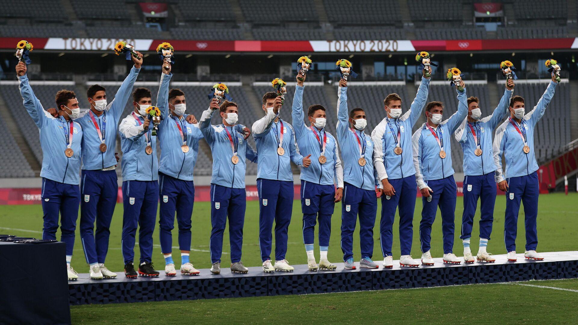 La selección masculina de rugby de Argentina - Sputnik Mundo, 1920, 09.08.2021
