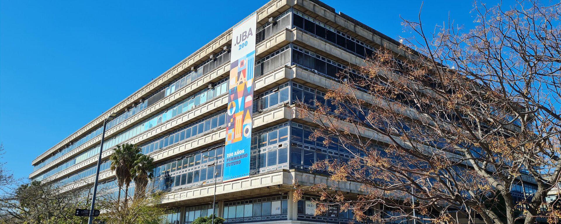 La Universidad de Buenos Aires - Sputnik Mundo, 1920, 12.08.2021