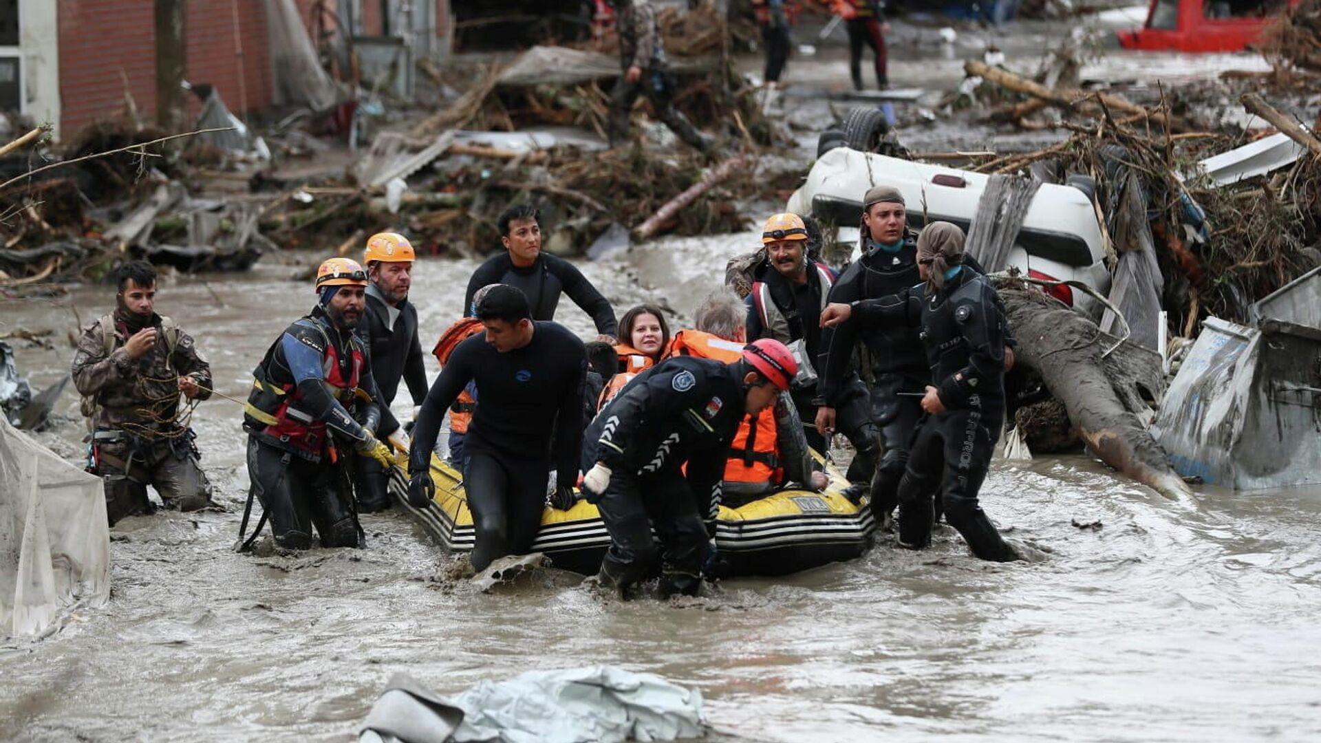 Inundaciones en Turquía - Sputnik Mundo, 1920, 14.08.2021