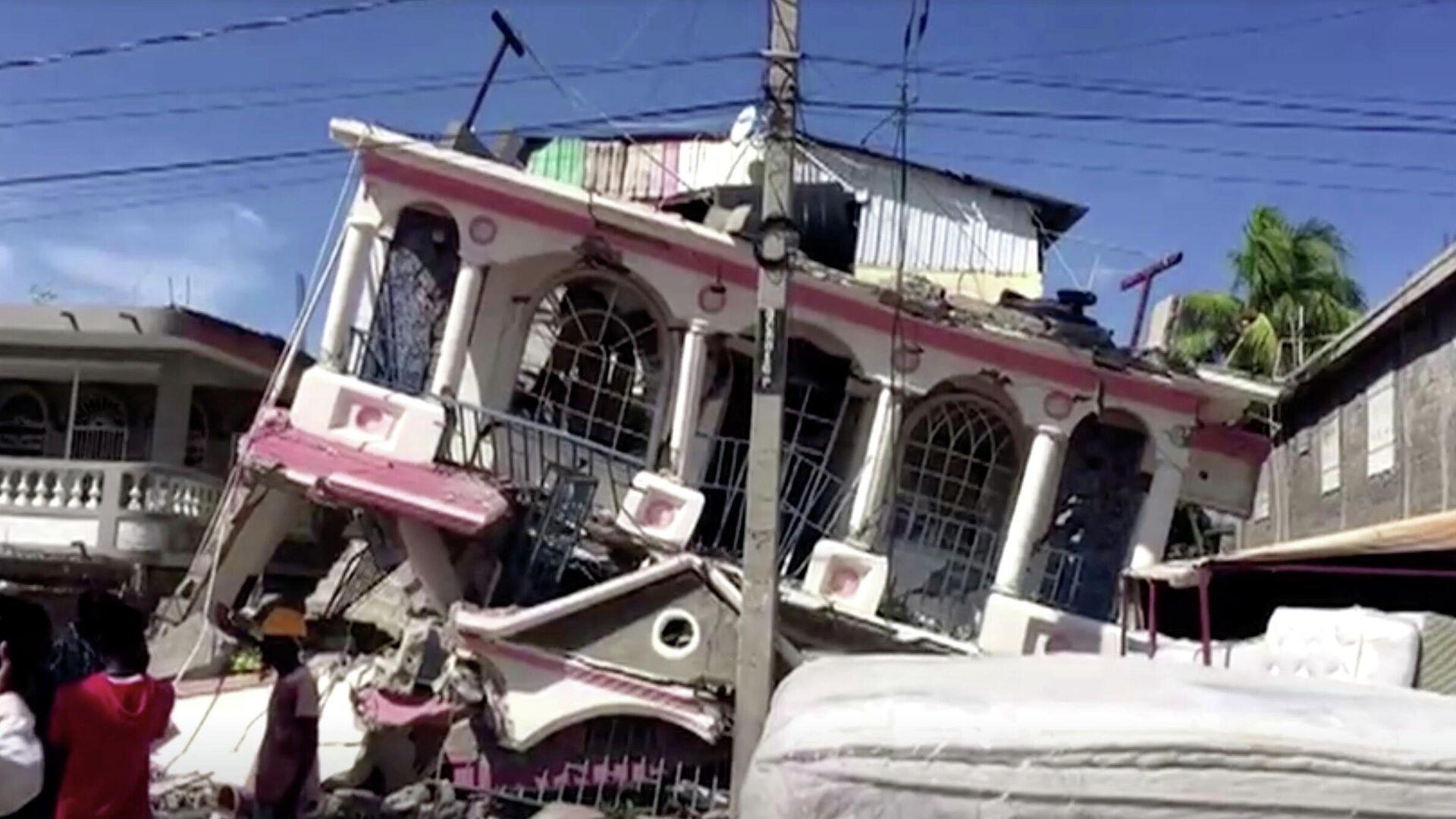 Las consecuencias del terremoto en Haití - Sputnik Mundo, 1920, 17.08.2021