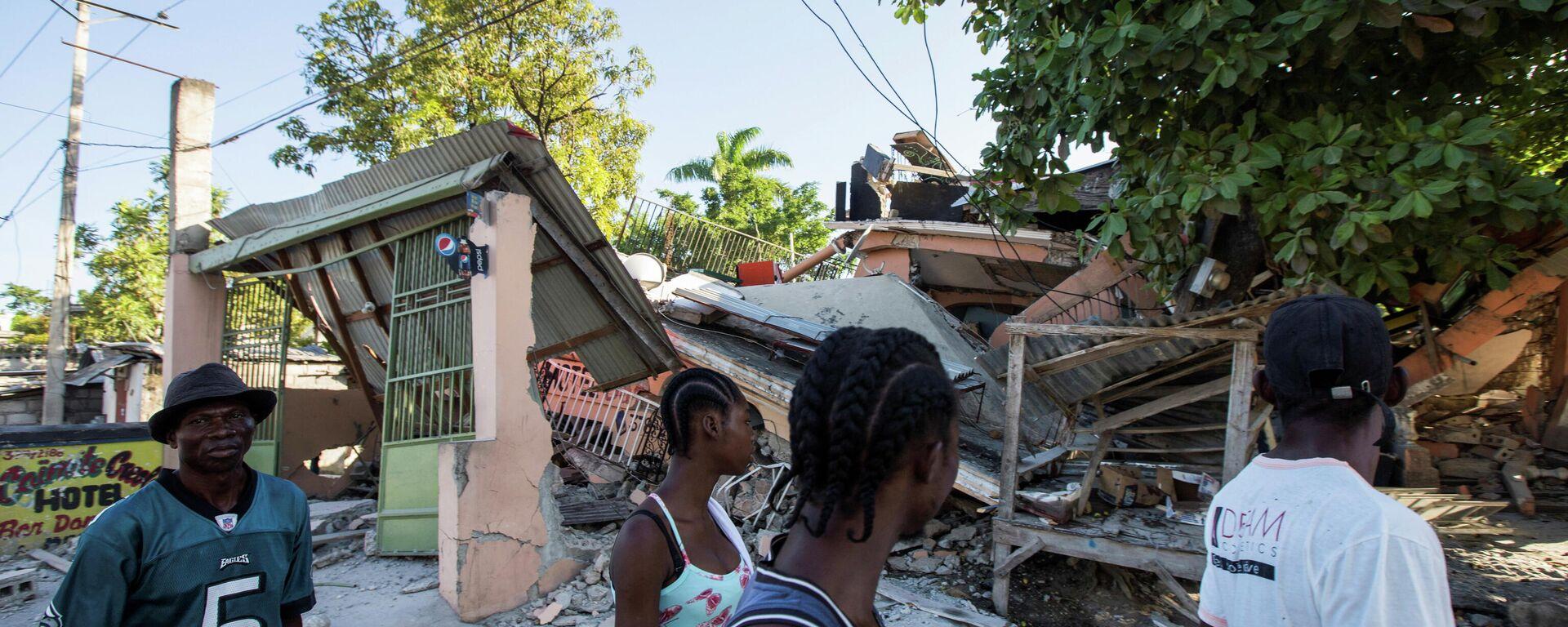 Consecuencias del terremoto en Haití - Sputnik Mundo, 1920, 15.08.2021